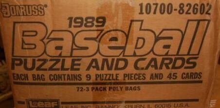1989 donruss rack case