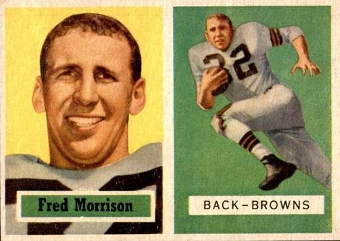1957 Topps Fred Morrison