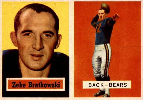 1959 Topps Zeke Bratkowski