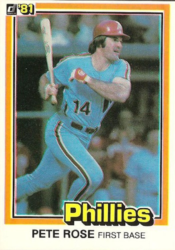 1981 Donruss Pete  Rose