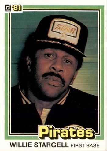 1981 Donruss Willie  Stargell