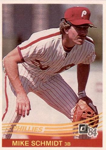 1984 Donruss Mike Schmidt (#183)