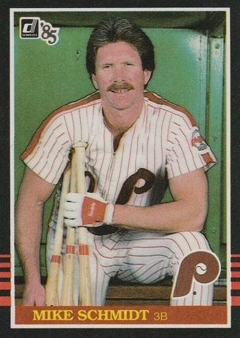 1985 Donruss Mike Schmidt (#61)
