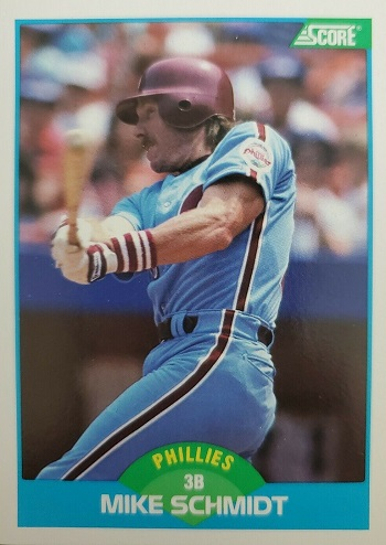 1989 Score Mike Schmidt (#149)