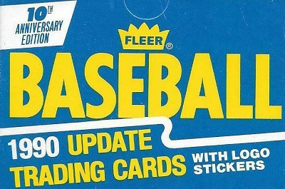 1990 Fleer Update – Key Cards and Checklist