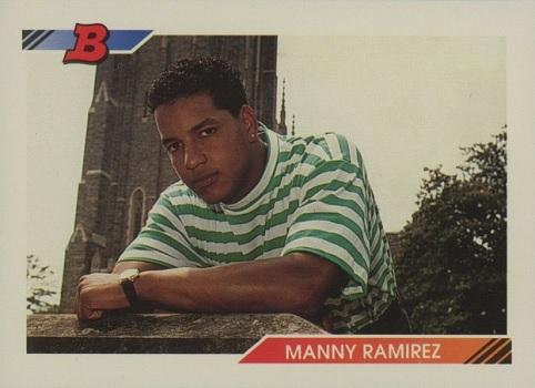 1992 Bowman Manny  Ramirez