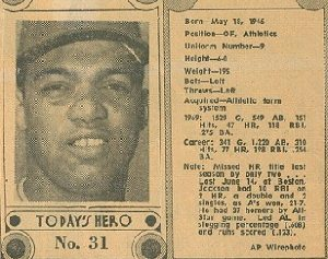 1970 Dayton Daily News Bubble-Gumless Cards — Not Cards, But Cards
