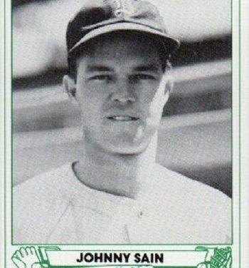 TCMA 1946 Play Ball Reprints Johnny Sain Did the Impossible