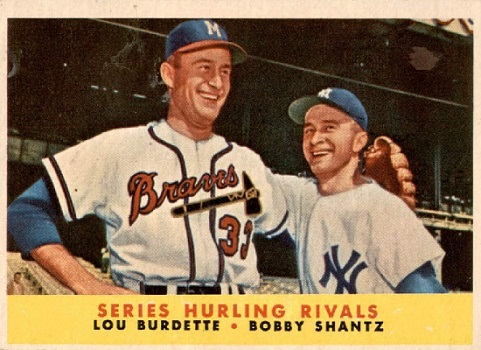 1958 Topps 'Series Hurling Rivals' Missed the Mark
