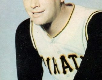 1968 KDKA Pittsburgh Pirates Jim Bunning an Unusual Sight