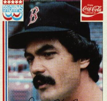 1982 Coca-Cola Brigham's Dwight Evans Stood Out