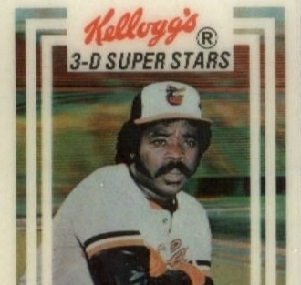 1983 Kellogg's Eddie Murray Was the Beginning and the End