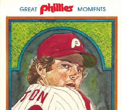1983 Phillies Great Moments Postcards Are Real Works of Art
