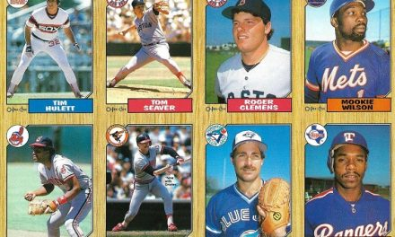 1987 O-Pee-Chee Tom Seaver/Roger Clemens Promo Panel Loaded Up on Wins
