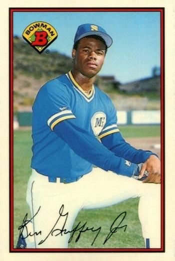 Ken Griffey Jr Rookie Cards 1989 Bowman Tiffany Ken Griffey Jr.