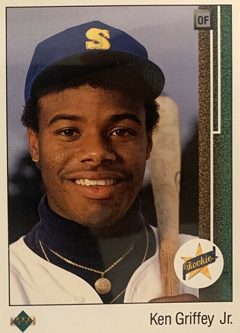 Ken Griffey Jr Rookie Cards 1989 Upper Deck Ken Griffey Jr.