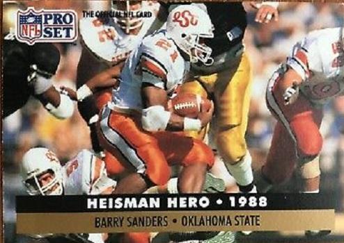 1991 Pro Set Barry Sanders