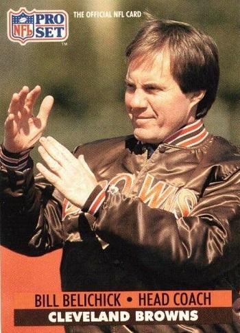 1991 Pro Set Bill Belichick