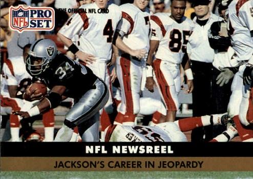 1991 Pro Set Bo Jackson