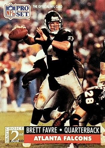 1991 Pro Set Brett Favre
