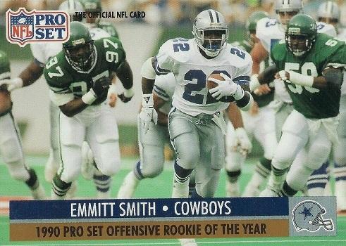 1991 Pro Set Emmitt Smith