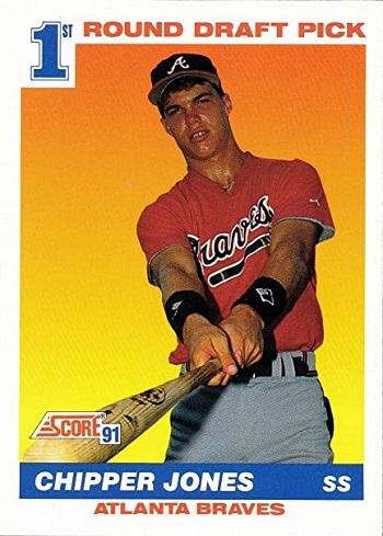 1991 Score Chipper  Jones