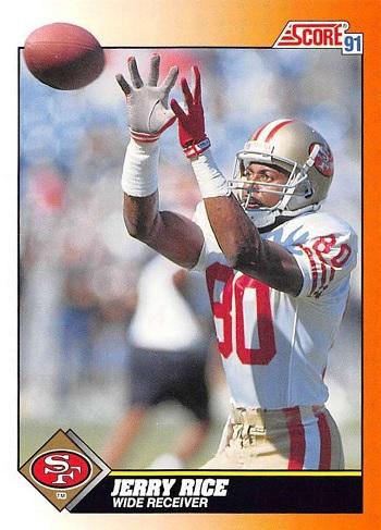 1991 Score Jerry Rice