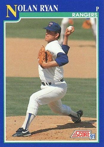 1991 Score Nolan  Ryan