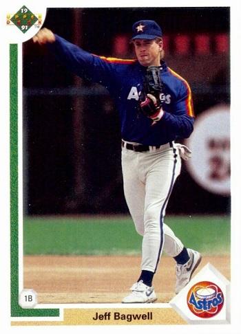 1991 Upper Deck Jeff  Bagwell