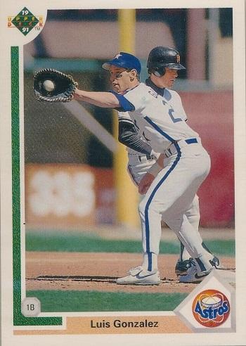 1991 Upper Deck Luis  Gonzalez