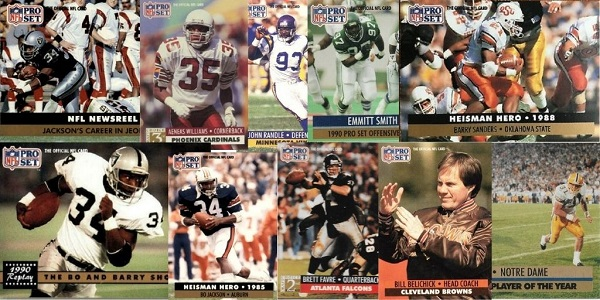 1991 Pro Set Football Cards – 10 Most Popular