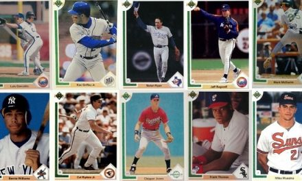 1991 Upper Deck Baseball Cards – 10 Most Popular