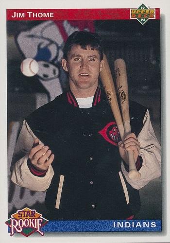 1992 Upper Deck Jim  Thome Star Rookie