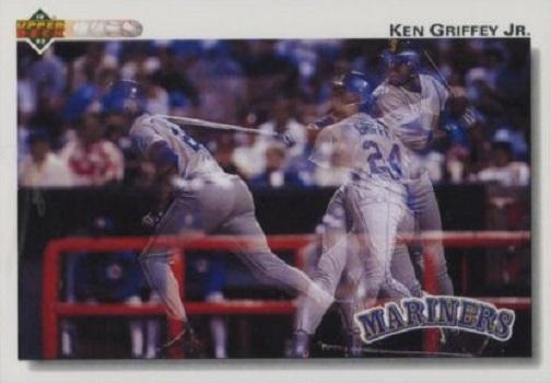1992 Upper Deck Ken  Griffey  Jr.n