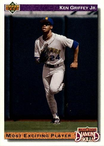 1992 Upper Deck Ken  Griffey  Jr.(Most Exciting Player)