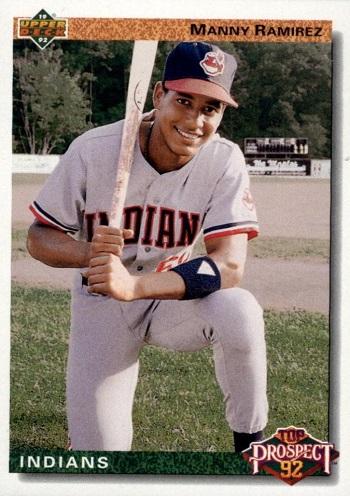 1992 Upper Deck Manny  Ramirez