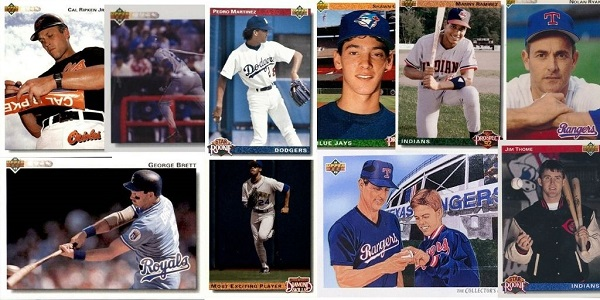 1992 Upper Deck Baseball Cards – 10 Most Popular