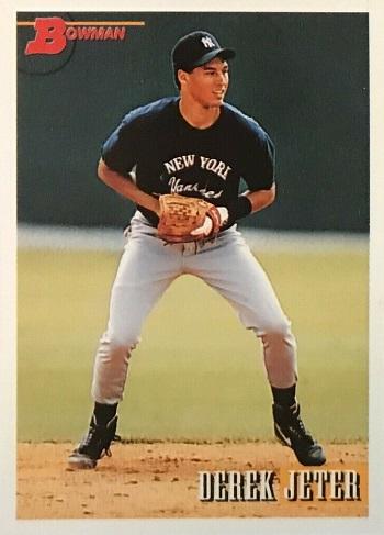 1993 Bowman Derek Jeter