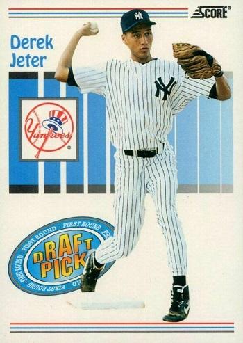 1993 Score Derek Jeter Draft Pick