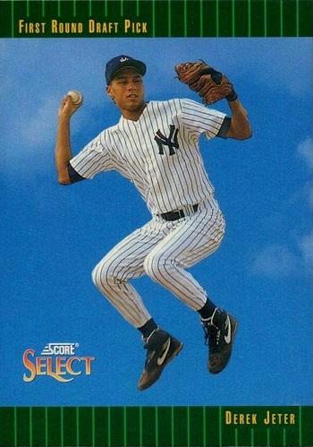 1993 Select Derek Jeter