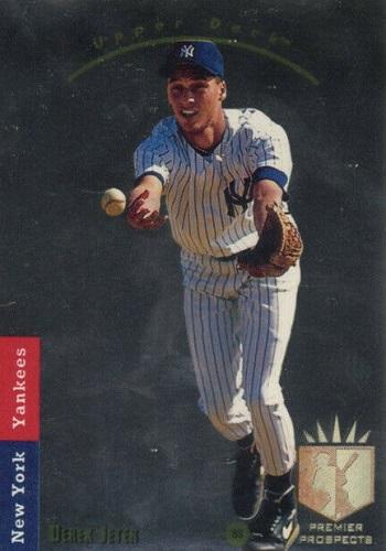 1993 Sp Derek Jeter Foil