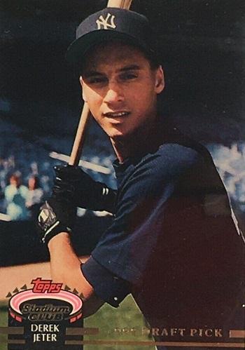 1993 Stadium Club Derek Jeter Murphy