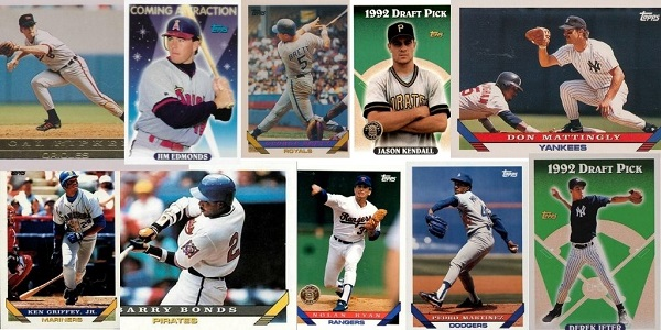1993 Topps Baseball Cards – 10 Most Popular