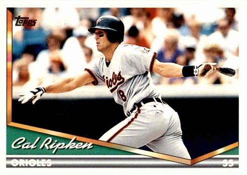 1994 Topps Cal Ripken Jr