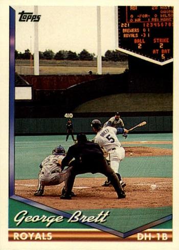 1994 Topps George  Brett
