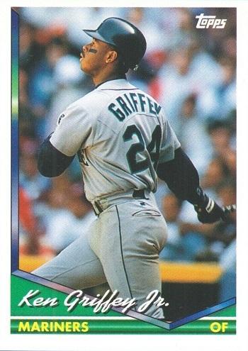 1994 Topps Ken  Griffey  Jr.n