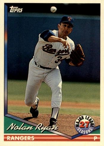 1994 Topps Nolan  Ryan