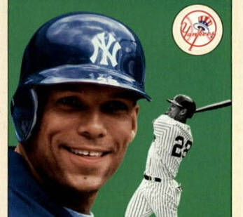 2000 Fleer Tradition Update David Justice Busted the Slump