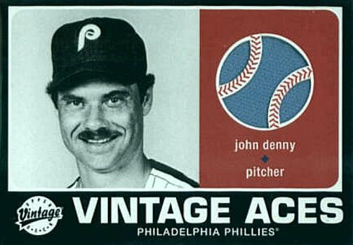 2002 Upper Deck Vintage Aces John Denny Needs Dusted Off