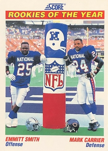 1991 Score Smith-Carrier Rookies of the Year